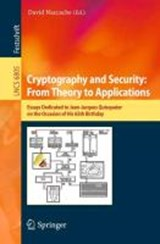 Cryptography and Security: From Theory to Applications | auteur onbekend |