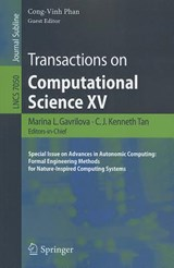 Transactions on Computational Science XV |  |