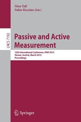 Passive and Active Measurement | auteur onbekend |