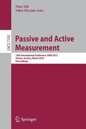 Passive and Active Measurement |  |