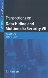 Transactions on Data Hiding and Multimedia Security VII |  |