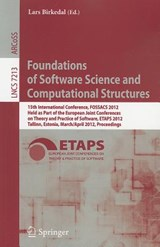 Foundations of Software Science and Computational Structures | auteur onbekend |