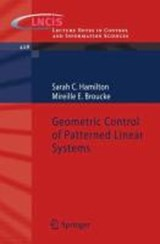 Geometric Control of Patterned Linear Systems | Sarah C. Hamilton |