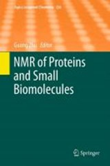 NMR of Proteins and Small Biomolecules | auteur onbekend |
