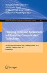 Emerging Trends and Applications in Information Communication Technologies | auteur onbekend |