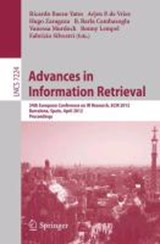Advances in Information Retrieval | auteur onbekend |