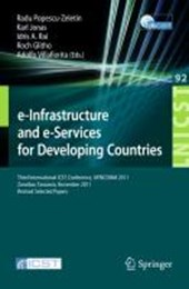 e-Infrastructure and e-Services for Developing Countries |  |