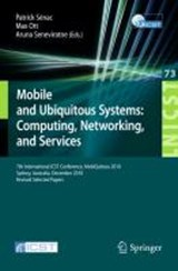 Mobile and Ubiquitous Systems: Computing, Networking, and Services | auteur onbekend |