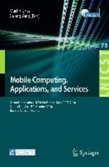 Mobile Computing, Applications, and Services | auteur onbekend |