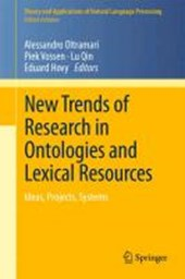 New Trends of Research in Ontologies and Lexical Resources |  |