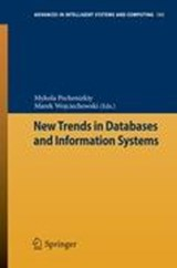 New Trends in Databases and Information Systems | auteur onbekend |