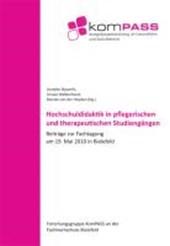 Hochschuldidaktik in pflegerischen und therapeutischen Studiengängen