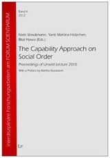 The Capability Approach on Social Order | auteur onbekend |