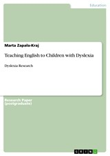 Teaching English to Children with Dyslexia | Marta Zapala-Kraj |