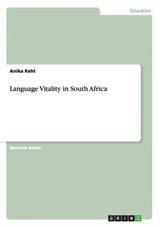 Language Vitality in South Africa | Anika Kehl |