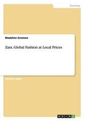 Zara. Global Fashion at Local Prices