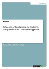 Influence of Immigration on Society. A comparison of St. Louis and Wuppertal