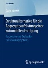 Strukturalternative für die Aggregateaufrüstung einer automobilen Fertigung