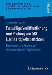 Freiwillige Veröffentlichung und Prüfung von GRI-Nachhaltigkeitsberichten