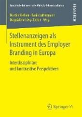 Stellenanzeigen als Instrument des Employer Branding in Europa