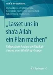 """lasset Uns in Sha'a Allah Ein Plan Machen"""