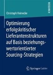 Optimierung erfolgskritischer Lieferantenstrukturen auf Basis beziehungswertorientierter Sourcing-Strategien