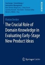 The Crucial Role of Domain Knowledge in Evaluating Early-Stage New Product Ideas | Florian Denker |