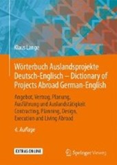 Worterbuch Auslandsprojekte Deutsch-Englisch - Dictionary of Projects Abroad German-English