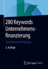 280 Keywords Unternehmensfinanzierung