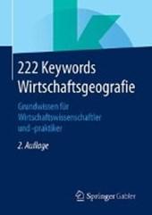 222 Keywords Wirtschaftsgeografie