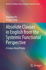 Absolute Clauses in English from the Systemic Functional Perspective | Qingshun He |