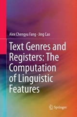 Text Genres and Registers | Chengyu Alex Fang |