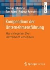 Kompendium der Unternehmensführung