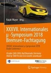 XXXVII. Internationales ?-Symposium 2018 Bremsen-Fachtagung