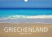 Griechenland -Magie der Farben (Wandkalender 2017 DIN A4 quer)
