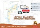 Sportbootkarten Satz 6: Limfjord - Skagerrak - Dänische Nordseeküste (berichtigt bis 01/2017)
