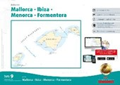 Sportbootkarten Satz 9: Balearen (berichtigt bis 01/2017)