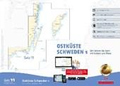 Sportbootkarten Satz 11: Ostküste Schweden 1 (Ausgabe 2017/2018)