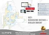 Sportbootkarten Satz 1, 4 und 5 - Set: Dänische Ostsee und Kieler Bucht (Ausgabe 2017)