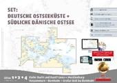 Sportbootkarten Satz 1, 2 und 4 - Set: Deutsche Ostsee und Südliche dänische Ostsee (Ausgabe 2017)