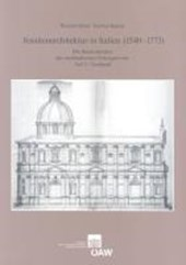 Jesuitenarchitektur in Italien (1540-1773) | Richard Bösel |