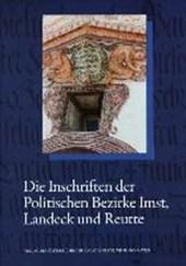 Die Inschriften des Bundeslandes Tirol, Teil