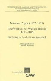 Nikolaus Poppe (1897-1991) Briefwechsel mit Walther Heissig (1913-2005)