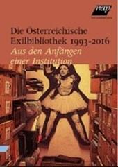 Die Österreichische Exilbibliothek 1993 -