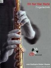 Fit for the Flute - Fingertechnik. Ausgabe mit CD
