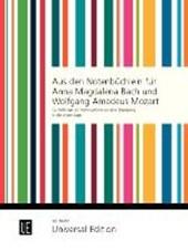 Aus den Notenbüchlein für Anna Magdalena Bach und Wolfgang Amadeus Mozart