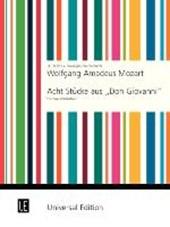 """8 Stücke aus """"Don Giovanni"""". Für 2 Klarinetten"""