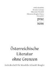 Österreichische Literatur ohne Grenzen