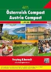 Oostenrijk Compact Wegenatlas F&B
