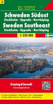 F&B Zweden 3 Zuidoost, Stockholm, Uppsala, Norrköping